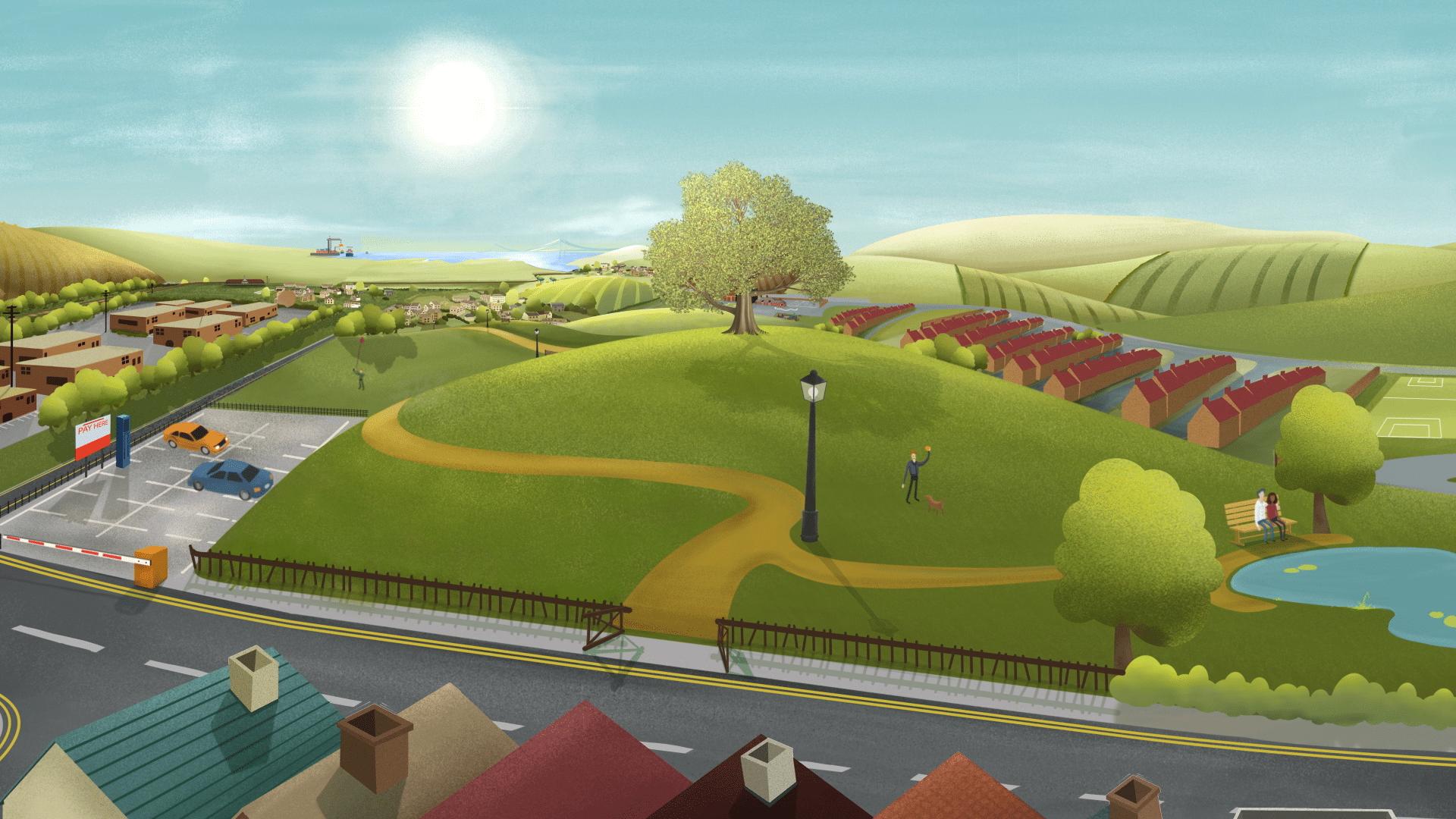 Animated Brand Film - Wyelands Bank