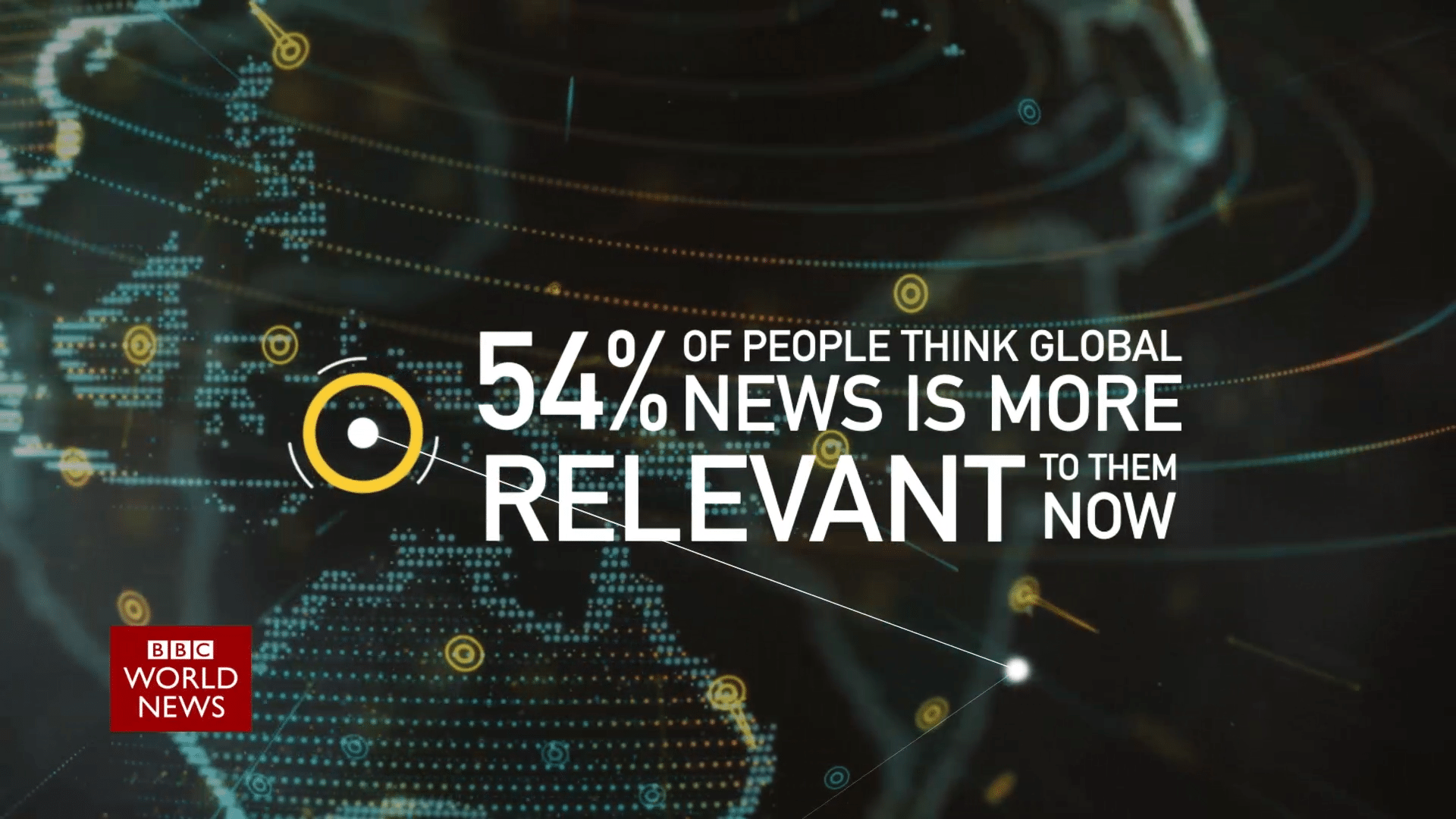 Animated Infographic - news statistics