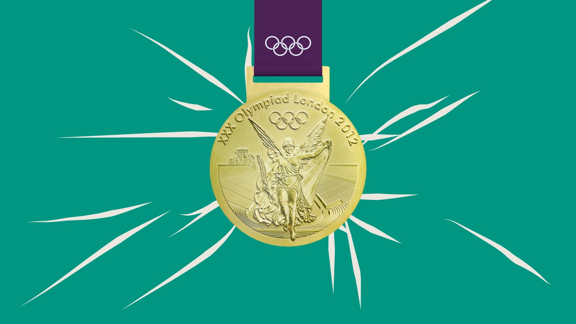 animated film for an event - olympic gold medal