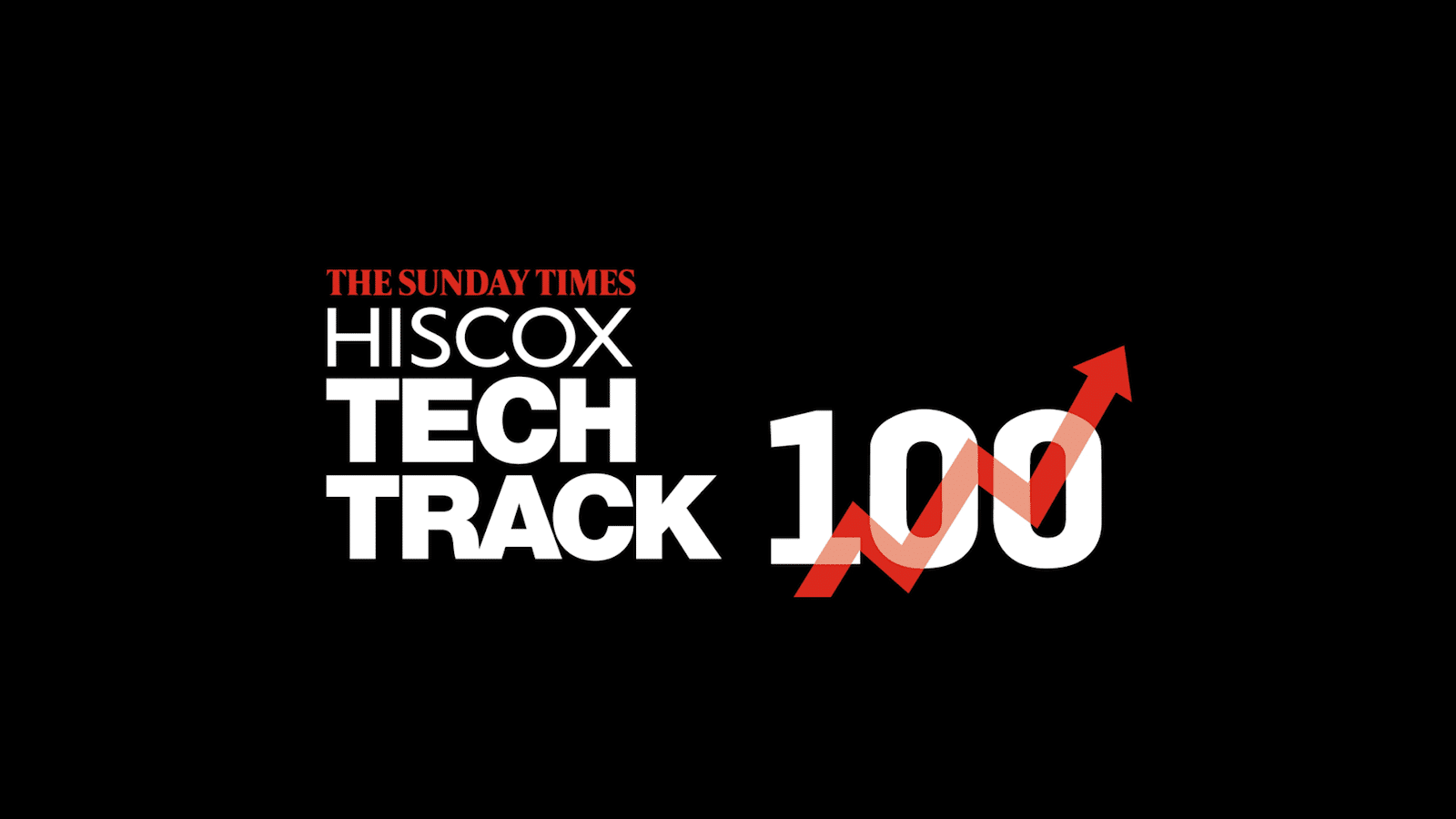 Hiscox Tech Track 100 with Positive Graph Image