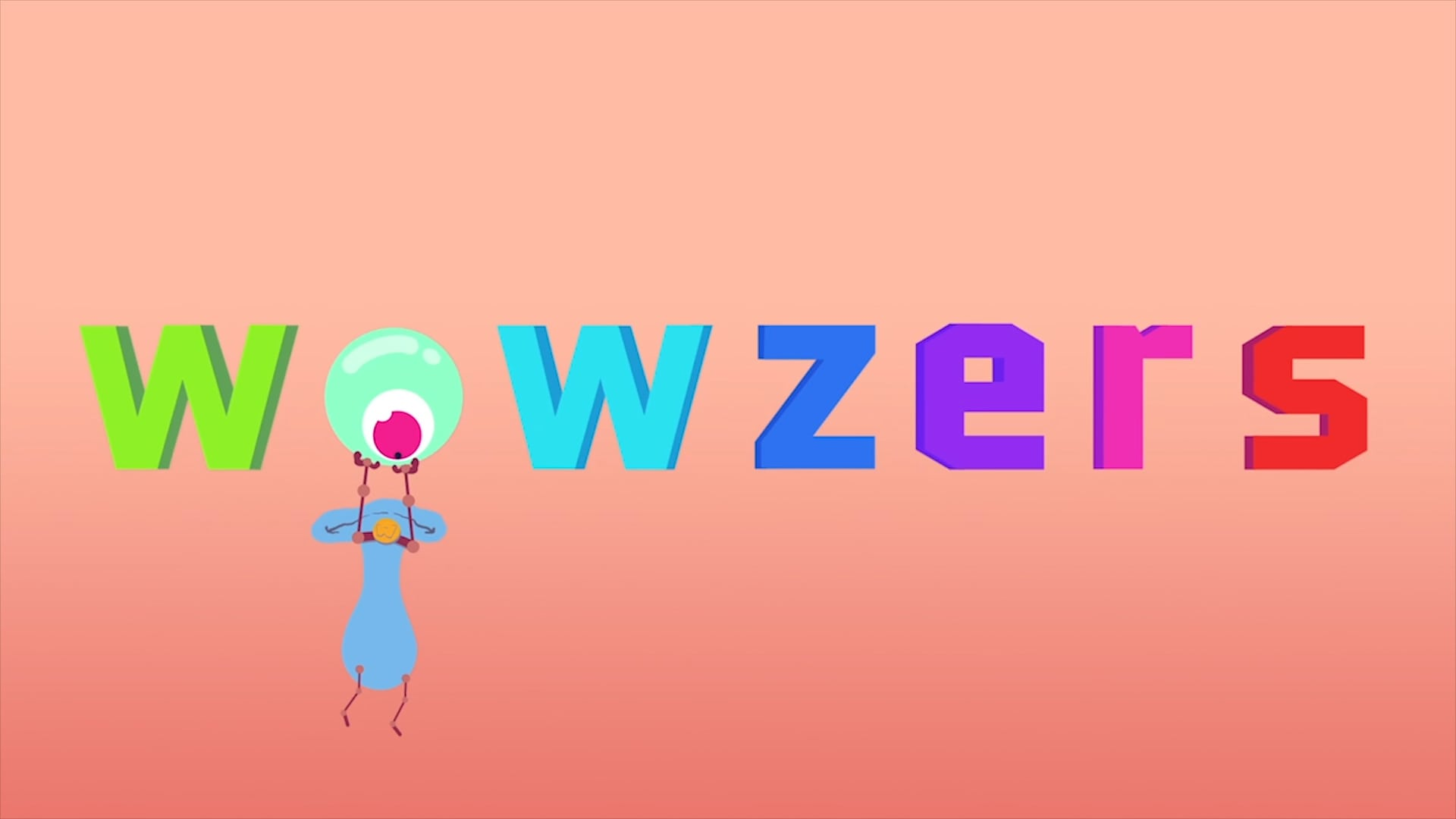 animated character videos for kids - wowzers logo
