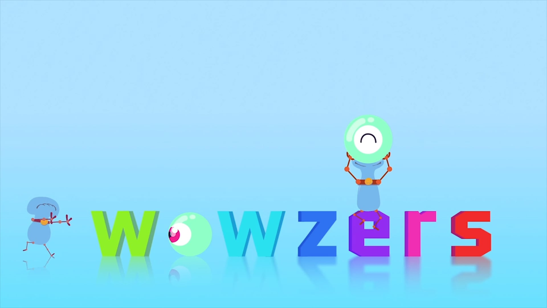 animated character videos for kids - wowzers alien image