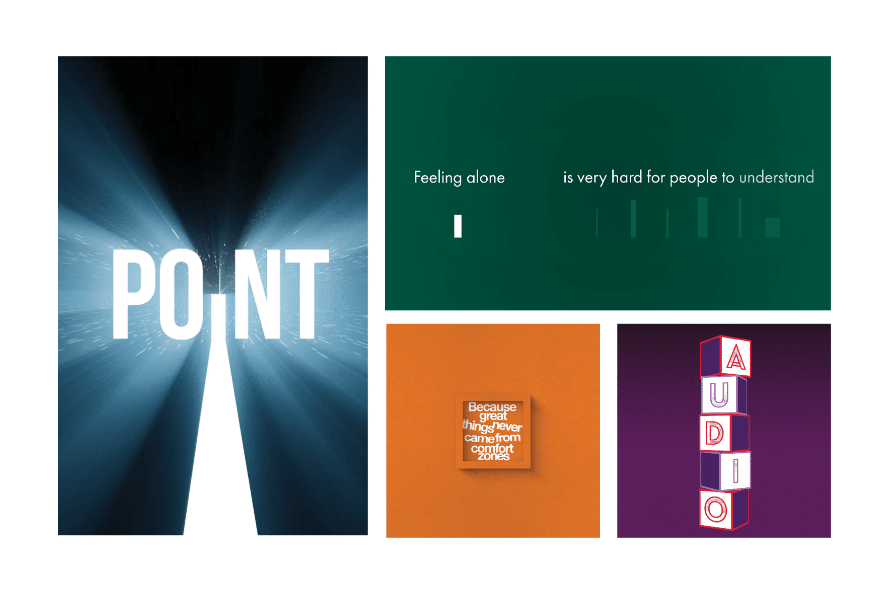 blog for kinetic typography trends and animated text examples