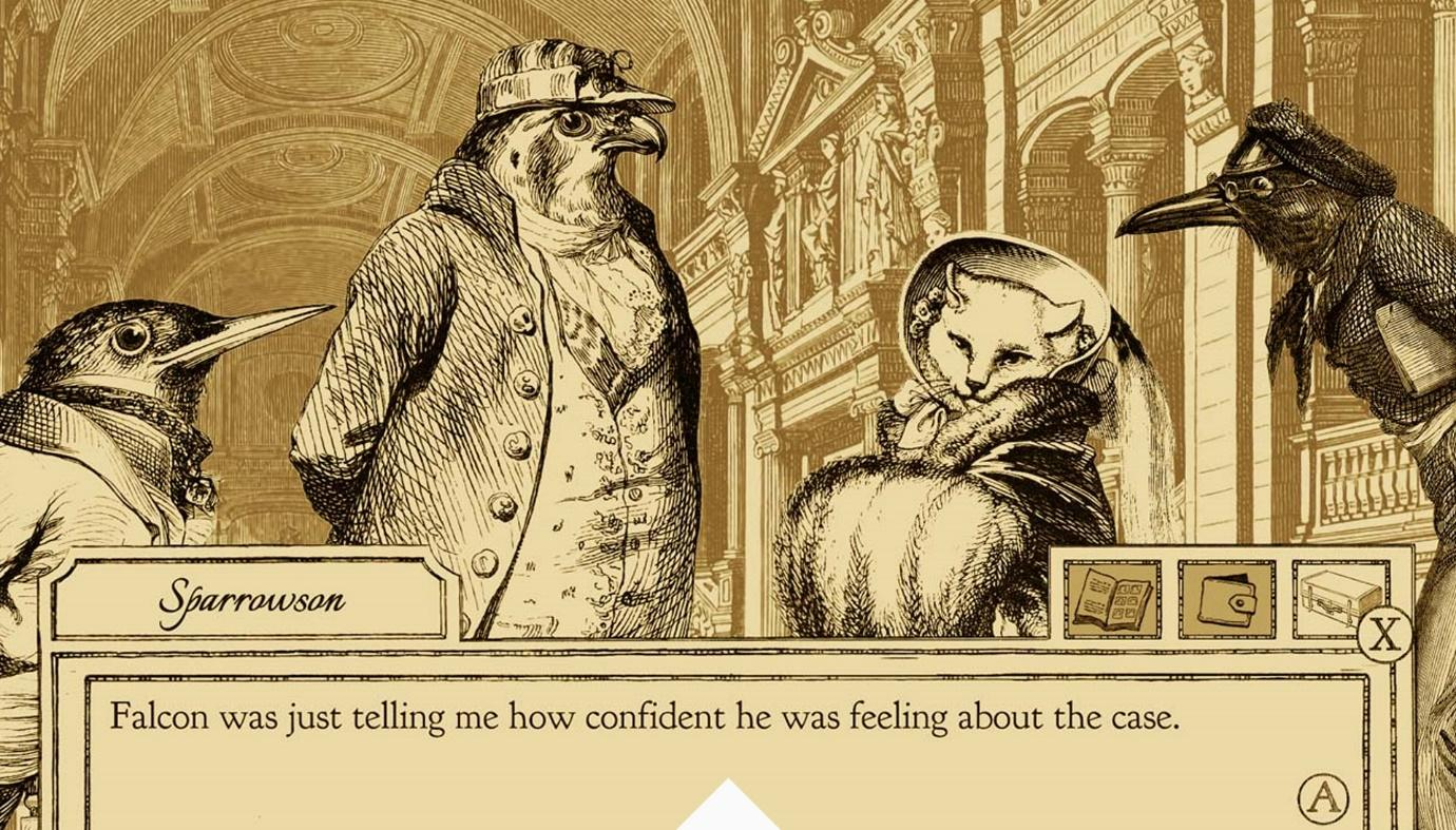 Aviary Attorney, Sketchy Logic, Indie Game Studio