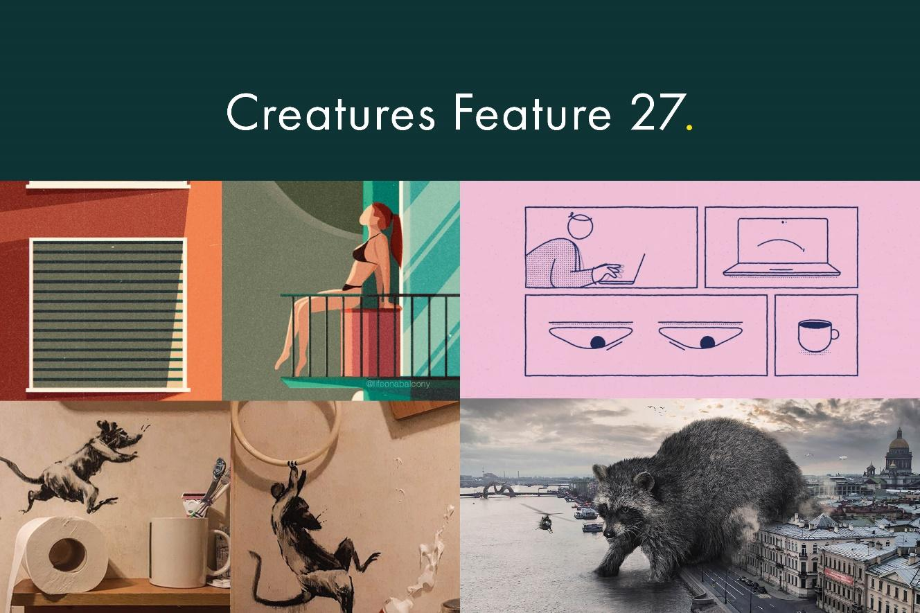 Creatures Feature 27 Header Image