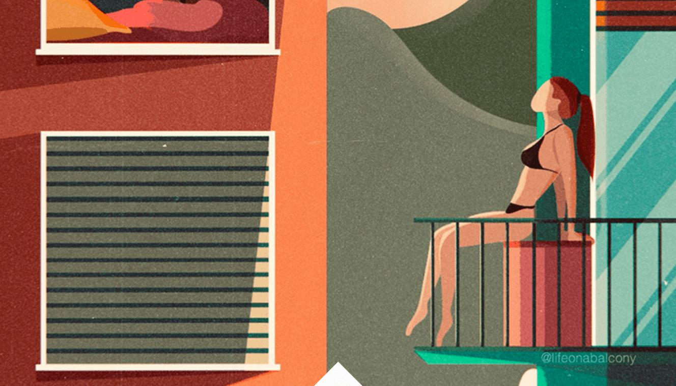 April - Life on a Balcony Chiara Belmonte