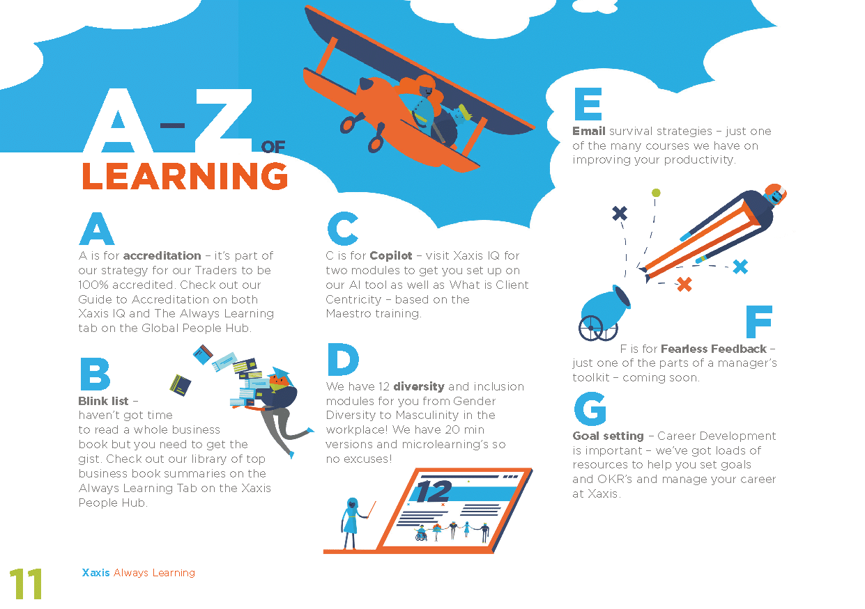 XAXIS – ALWAYS LEARNING BOOKLET
