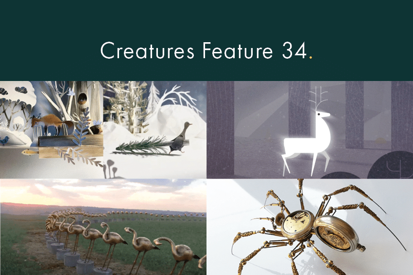Creatures Feature 34 by Content Creatures