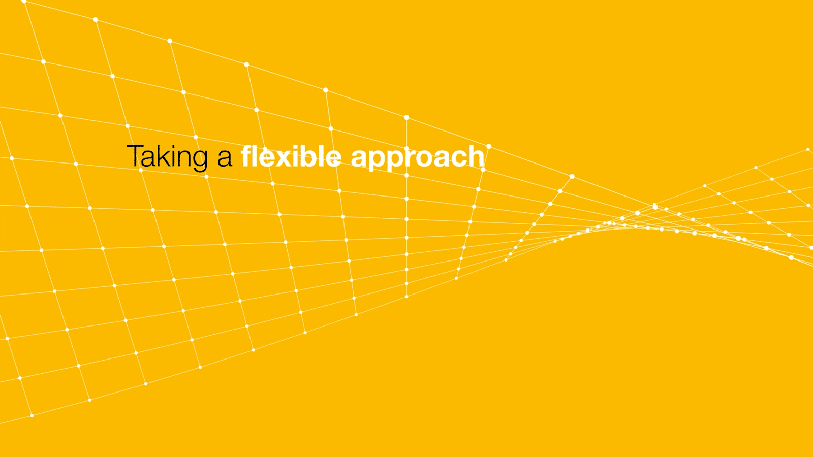 Animated Pitch Video Hero - Crowe UK - Taking a Flexible Approach